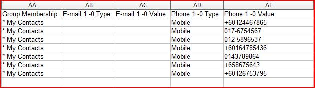 iSMS Malaysia - How to Export Gmail Contact into CSV Online SMS ...
