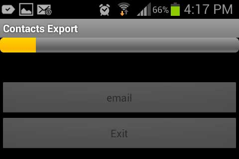 how to read csv file in android