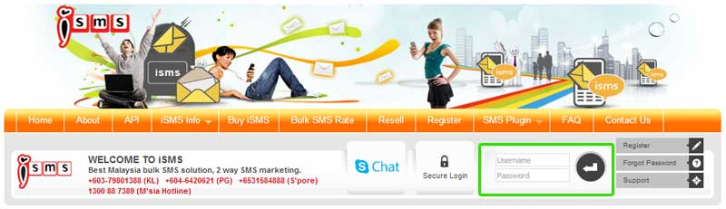 iSMS | SMS Marketing Malaysia | Bulk SMS | How to Reload SMS